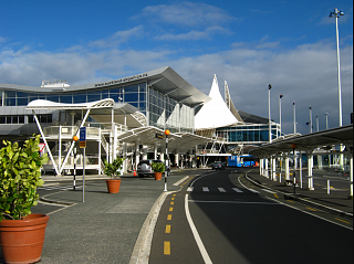 International terminal new Zealand Auckland airport