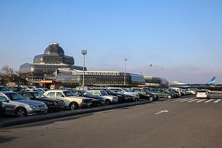 Старый терминал международных авиалиний аэропорта Баку
