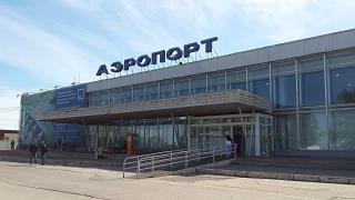 The terminal of the airport Perm, Bolshoye Savino