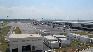 Perron low-cost terminal KLIA2 airport in Kuala Lumpur