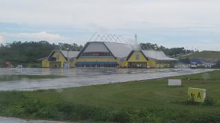 Пассажирский терминал аэропорта Лангур