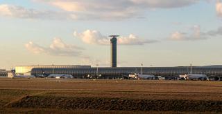 Concourse 2E/K of terminal 2 of Paris airport Charles de Gaulle