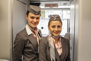 Стюардессы авиакомпании