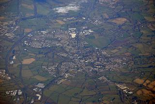 The town of Naas in Ireland