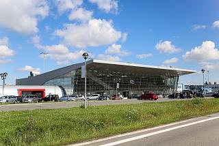 The passenger terminal of the airport of Ostrava