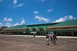 The Puerto Princesa airport in the Philippines