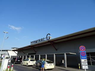 The terminal C of the airport Berlin Tegel