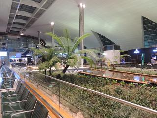 In Dubai airport
