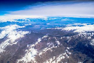 Mountains over Afghanistan