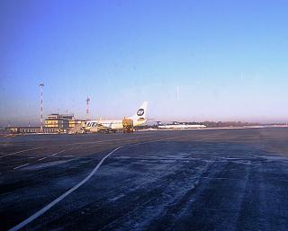 Перрон аэропорта Пермь Большое Савино