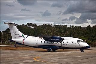 The plane Dornier 328 airline SEAIR