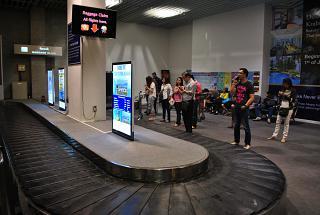 Зал выдачи багажа в аэропорту Краби