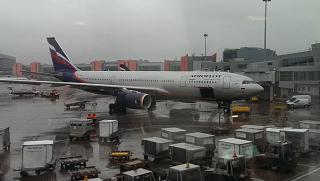 Airbus A330-200 Аэрофлота в аэропорту Шереметьево