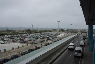 Car Parking at the airport of Palermo