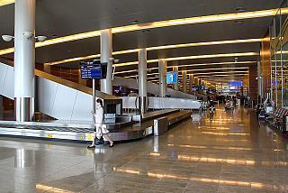 Зона выдачи багажа в терминале D аэропорта Шереметьево