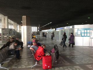 The waiting room at the airport Khabarovsk Novy