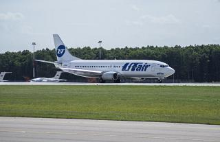 Boeing-737-400 airlines UTair in Vnukovo airport