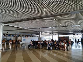 В терминале F аэропорта Киев Борисполь