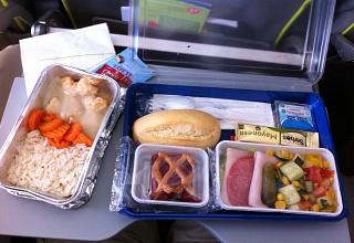 Бортпитание на рейсе S7 Airlines Аликанте-Москва