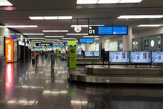 Зона выдачи багажа в Терминале 3 аэропорта Вена Швехат
