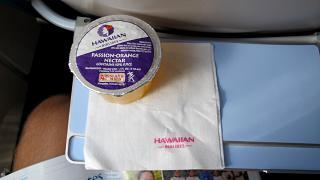 Сок на рейсе Гавайских авиалиний