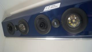 The panel above the passenger seat in the aircraft DHC-6 Twin Otter