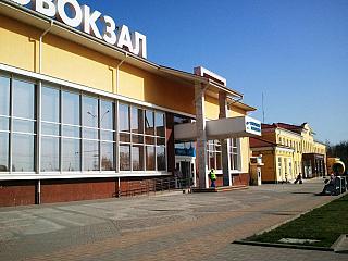 Вход в аэровокзал аэропорта Краснодара