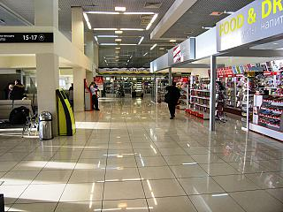 Gallery shop in the sterile area of the airport of Ekaterinburg Koltsovo