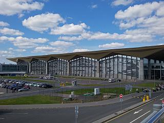 The new passenger terminal of airport Saint Petersburg Pulkovo