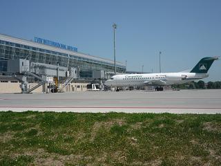 Terminal a airport Lviv