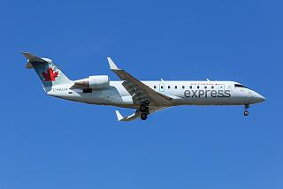 Bombardier CRJ-200ER C-GUJA airline Jazz Aviation