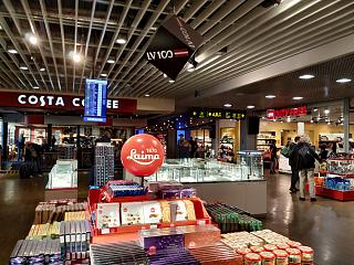 Shop Duty Free at the airport Riga