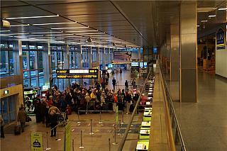 Зал вылета аэропорта Рига