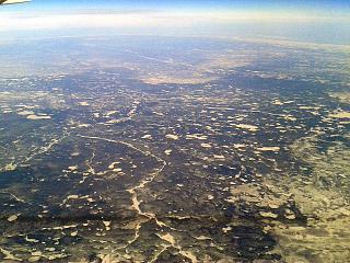 The Putorana plateau in Eastern Siberia