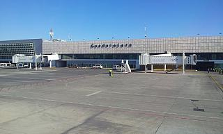 The terminal of Guadalajara airport