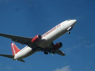Боинг-737-800 авиакомпании Corendon Airlines в аэропорту Амстердам Схипхол