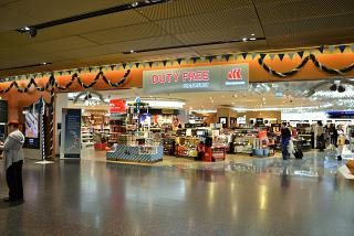 Duty Free shop in terminal 1 of Frankfurt airport