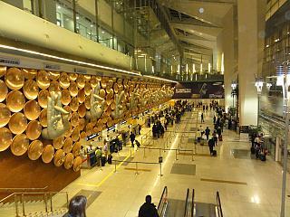 В аэропорту Дели Индира Ганди