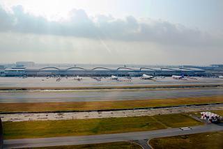 Cargo terminal of Bangkok Suvarnabhumi airport