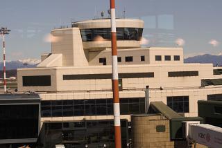 Диспетчерская башня аэропорта Милан Мальпенса