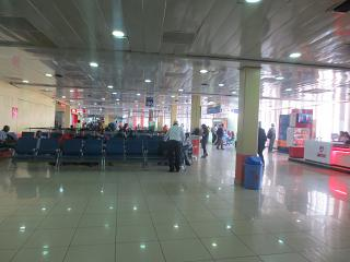 Clean area at the airport Nairobi Jomo Kenyatta