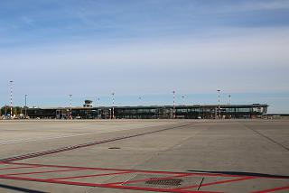 A new wing of the passenger terminal in Riga airport