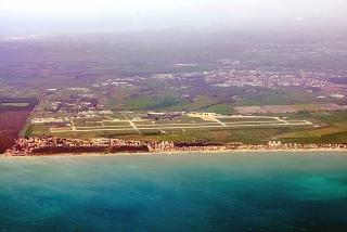 Military airport Mario De Bernardi in Italy