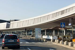 Terminal 1 of the airport Vienna Schwechat