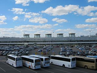 Car Parking at the airport Pulkovo