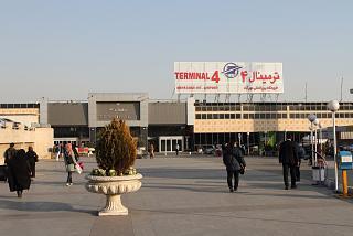 Terminal 4 of airport Tehran Mehrabad