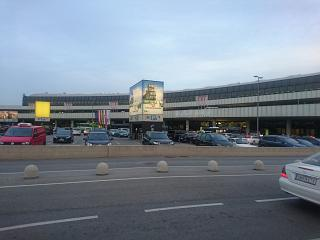 The landside area of the airport Vienna Schwechat