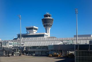 Sector C of terminal 1 of Munich airport