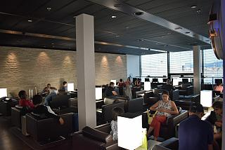 Business lounge, Swiss Lounge D at the Zurich airport