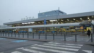 Terminal 1 of Prague airport Vaclav Havel